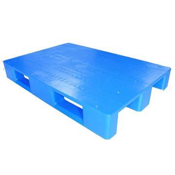 STORAGEMAID 蓝色塑料托盘,平板川字 尺寸(mm):1200*800*160 动载1T 静载4T
