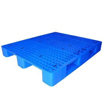 STORAGEMAID 蓝色塑料托盘,网格川字 尺寸(mm):1300*1100*155 动载1.5T 静载6T