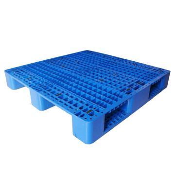 STORAGEMAID 蓝色塑料托盘,网格川字 尺寸(mm):1100*1100*155 动载1.5T 静载6T