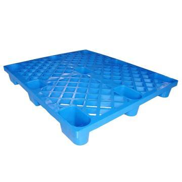 STORAGEMAID 蓝色塑料托盘,网格九脚 尺寸(mm):1200*1000*140 动载0.5T 静载1.3T