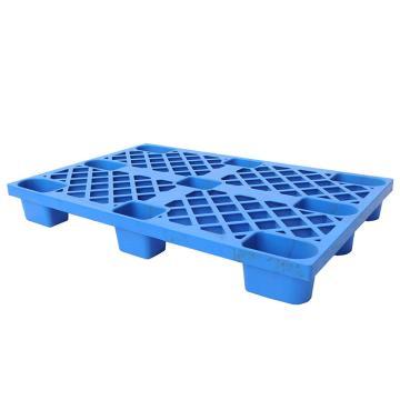 STORAGEMAID 蓝色塑料托盘,网格九脚 尺寸(mm):1200*800*140 动载0.5T 静载1.3T