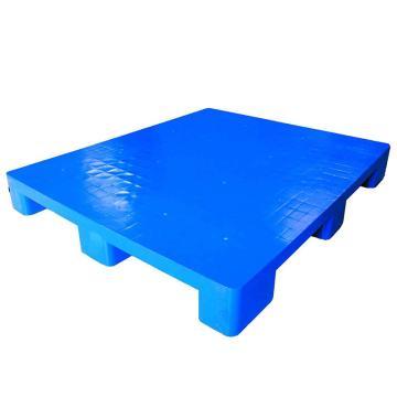 STORAGEMAID 藍色塑料托盤,平板九腳 尺寸(mm):1200*1000*140 動載1T 靜載4T