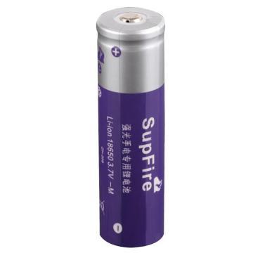神火 强光手电专用 18650 锂电池 紫色 3.7V 2000mAh 单位:个
