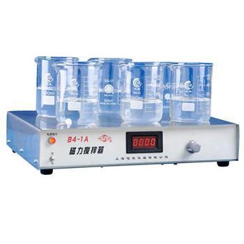 多工位磁力搅拌器,84-1A(6)数显,(20~1000)ml*6