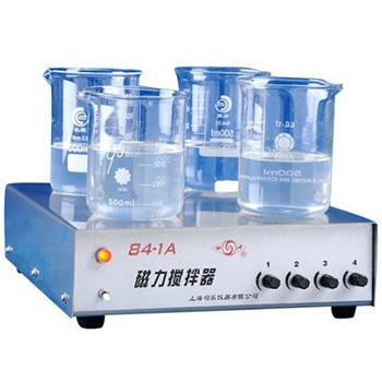 多工位磁力搅拌器,84-1A(4),(20~1000)ml*4