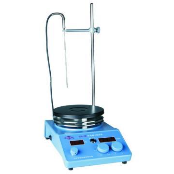数显磁力搅拌器,搅拌量:20-10000ml,温度:室温-250℃,S10-3