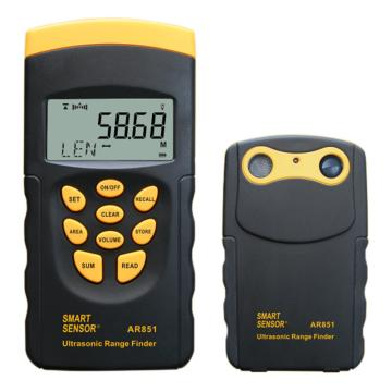 希玛/SMART SENSOR 超声波测距仪AR851,单机:0.5-20m,双机:1.0-60m