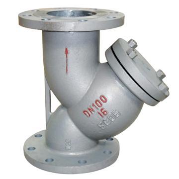 遠大閥門 碳鋼Y型過濾器 GL41H-25C,DN40,40目