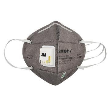 3M 9041V耳带式活性炭口罩,20个/盒