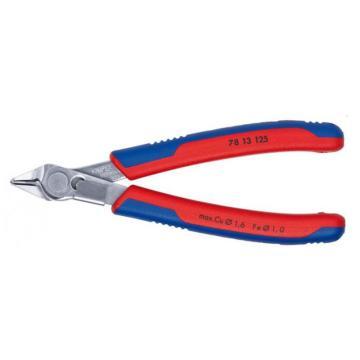 凱尼派克 Knipex 電子剪切鉗,125mm(不銹鋼頭部雙色雙重材料手柄),78 13 125