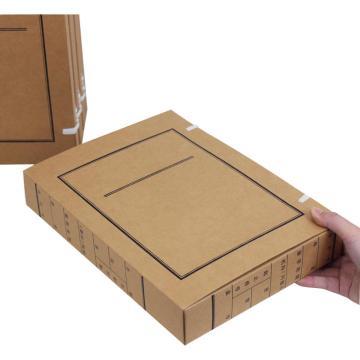 文书档案盒,无酸纸 规格:310*220*20 单个