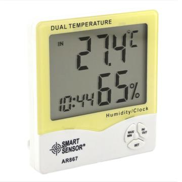 ?,?SMART SENSOR 數字式溫濕度計,AR867,-50~70℃,20~99%RH