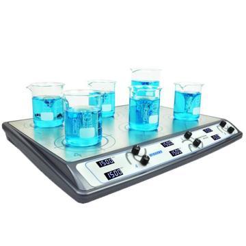搅拌器,Wiggens,数字调节式,WH-610D,显示方式:LCD显示,搅拌位数:6,搅拌台面尺寸:473x303mm