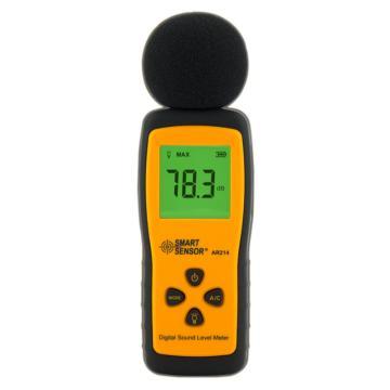希玛/SMART SENSOR 迷你式数字噪音计AR214,30~130dBA