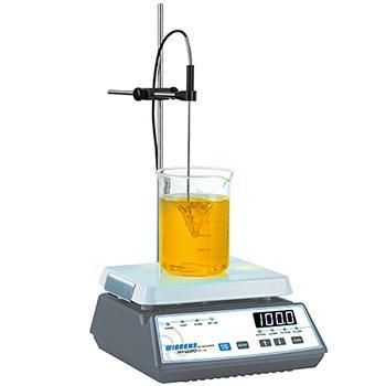 磁力搅拌器,Wiggens,数字式加热,WH220PLUS,控温范围:40-200℃,加热盘尺寸:145x180mm