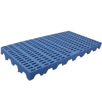 恋亚 防潮垫仓板,全新HDPE料,尺寸(W*D*H)mm:1000*600*50,蓝色,承重:1T