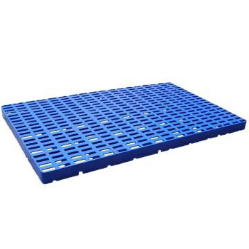 恋亚 防潮垫仓板,全新HDPE料,尺寸(W*D*H)mm:1000*600*50,蓝色,承重:1T,自重:3kg