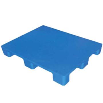 恋亚 塑料托盘,平板九脚,尺寸(mm):1100*900*140,蓝色,动载1T,静载4T