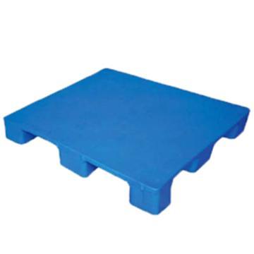 恋亚 塑料托盘,平板九脚,全新HDPE料,尺寸(W*D*H)mm:1000*1000*135,蓝色,动载1T,静载4T