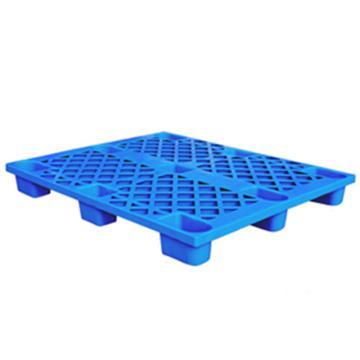 恋亚 塑料托盘,网格九脚,全新HDPE料,尺寸(W*D*H)mm:1300*1000*135,蓝色,动载1T,静载4T
