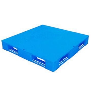 西域推荐 塑料托盘,平板田字,尺寸(mm):1200*1000*150,蓝色 动载1.2T 静载4T,上货架载重:0.7T