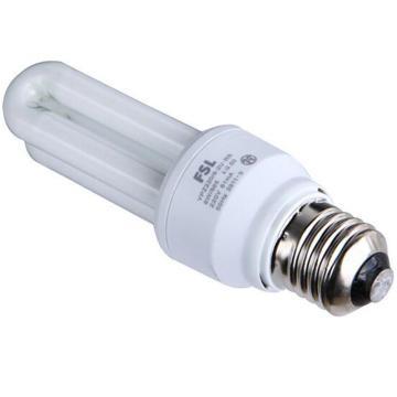 佛山照明  2U节能灯 8W E27 日光色(白光)