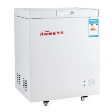 华美 单温单门顶开小冰柜(平底),BC/BD-162(铜管蒸发器)