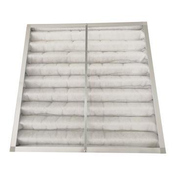 AAF 铝框板式可清洗初效空气过滤器(带支撑骨架,一体无拼接滤网),AmWash594×594×46mm,过滤效率G4