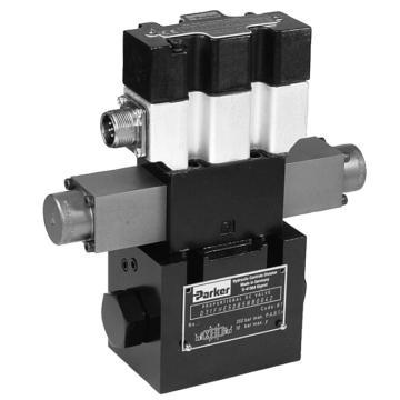 派克Parker 先導式比例換向閥,流量控制,內置控制器,D31FTE02CC4NF00