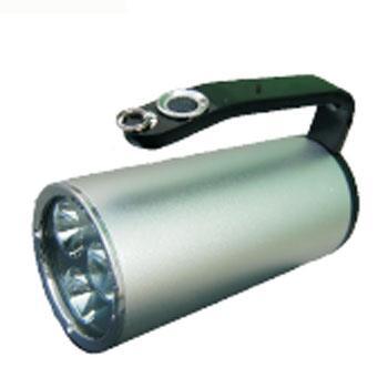 紫光照明 LED固态手提式防爆探照灯,YJ1201-9W,  12V,69*156mm,白光