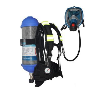 海固 空气呼吸器,RHZK F9/30,9L 标准空气呼吸器 碳纤维复合气瓶