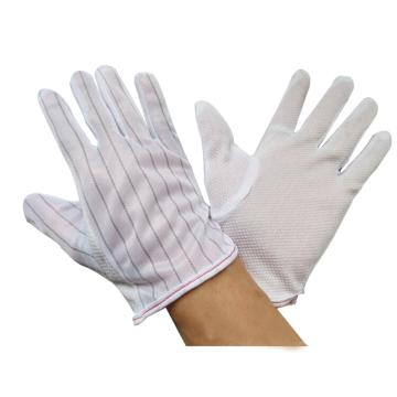 西域推荐 防静电手套,点塑手套,10副/包