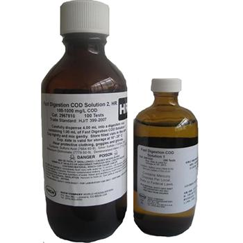 HACH大瓶装 低量程 快速 COD试剂,量程:15-150,可供200次测试使用