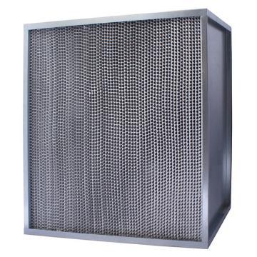 FLMFIL 镀锌框高风量隔板型高效空气过滤器,610*610*292mm,过滤效率H13