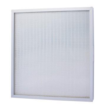 FLMFIL 铝框无隔板高效空气过滤器610*610*69mm,过滤效率H13
