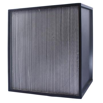 FLMFIL 镀锌框高风量隔板型高效空气过滤器,610*610*150mm,过滤效率H13