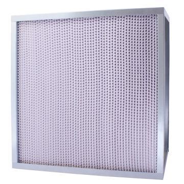 FLMFIL 镀锌框隔板型高效空气过滤器610*610*292mm,过滤效率H13