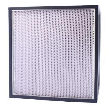 FLMFIL 镀锌框隔板型高效空气过滤器610*610*150mm,过滤效率H13
