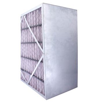 FLMFIL 镀锌框隔板型中效空气过滤器292*594*292mm,过滤效率F7