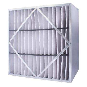 FLMFIL 镀锌框隔板型中效空气过滤器594*594*150mm,过滤效率F7