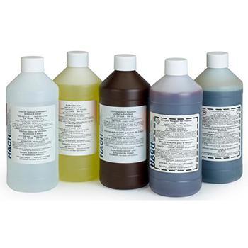 HACH 氨氮标准溶液,规格100mg/L 500ml,货号2406549