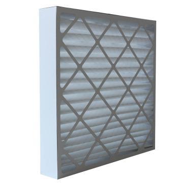 FLMFIL 褶形板式纸框初效空气过滤器,594*594*96mm,过滤效率G4