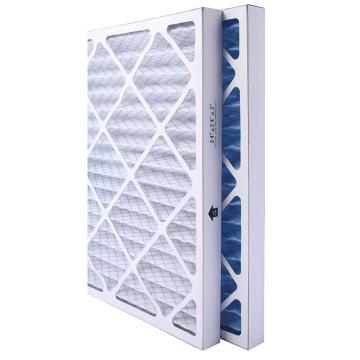 FLMFIL 褶形板式纸框初效空气过滤器,594*594*44mm,过滤效率G4