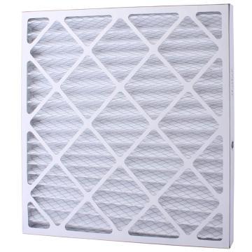 FLMFIL 褶形板式纸框初效空气过滤器,594*594*21mm,过滤效率G4