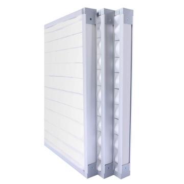FLMFIL 铝框板式可清洗初效空气过滤器,594*594*46mm,过滤效率G4