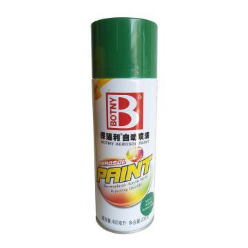 保賜利 自動噴漆,綠色系列,C3時風綠,200g/400ml/12罐/箱