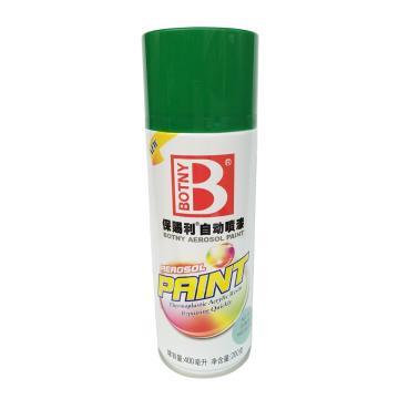 保賜利 自動噴漆,綠色系列,10丹青色,200g/400ml/12罐/箱