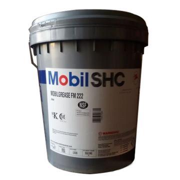 美孚 食品级润滑脂,FM222,16公斤/桶