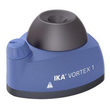IKA旋涡混匀器,无级调速范围:1000–2800rpm,最大直径:30mm,VORTEX 1