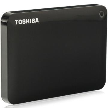 东芝(TOSHIBA) 2.5英寸 移动硬盘(USB3.0)3TB(经典黑) 单位:个